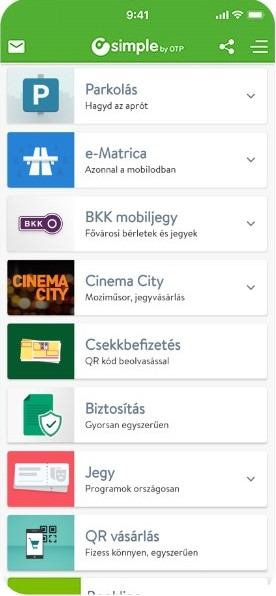 Vedd egyszerűen a mobiloddal, a Simple alkalmazással!